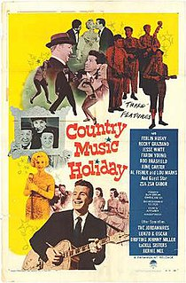 <i>Country Music Holiday</i> 1958 film by Alvin Ganzer