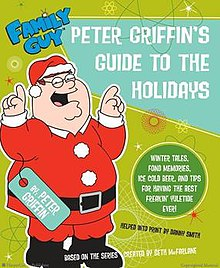 cover peter griffins guide to the holidaysjpeg - Family Guy Christmas Special