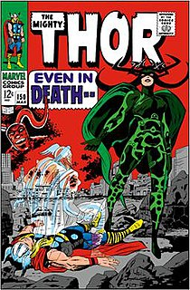 Hela (comics) fictional character in the Marvel Comics universe