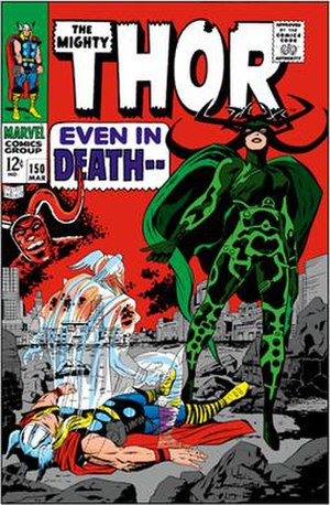 Hela (comics) - Image: Cover of Thor 150