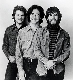 Creedence Clearwater Revival - CCR in 1972, after Tom Fogerty's departure; John Fogerty, Stu Cook, Doug Clifford
