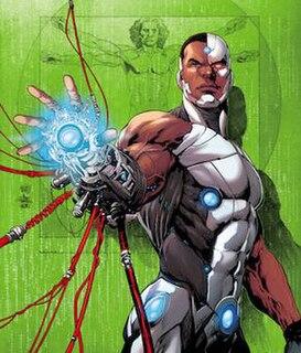 Cyborg (comics) DC comics character