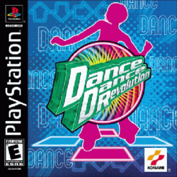 Dance Dance Revolution North American PlayStation cover art.png