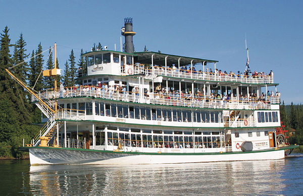 Riverboat Discovery Tour In Fairbanks Alaska