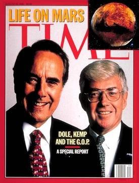 Dole Kemp Time Magazine cover