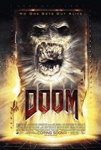 Doom (film) - Theatrical release poster