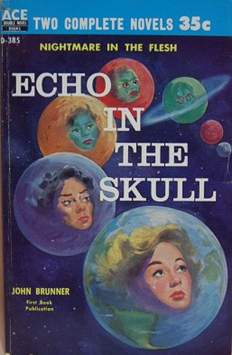 Echo in the Skull - First edition