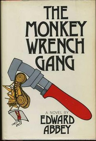 The Monkey Wrench Gang - First edition cover