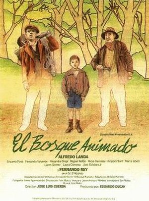 El bosque animado - Theatrical release poster