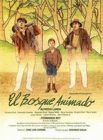 El bosque animado - Theatrical release poster