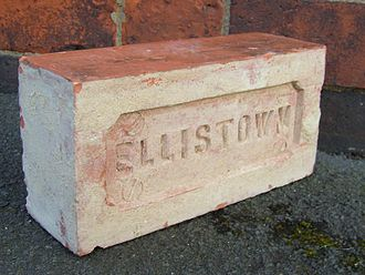 Ellistown - Local brick