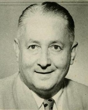 Everett Case - Case pictured in Agromeck 1951, NC State yearbook