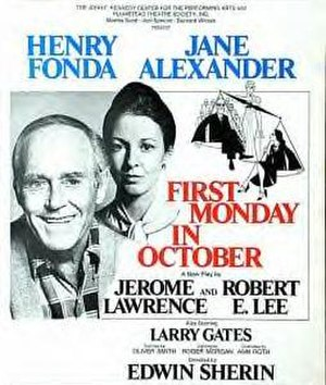 First Monday in October - Original Broadway poster