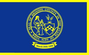 Broome County, New York - Image: Flag of Broome County, New York