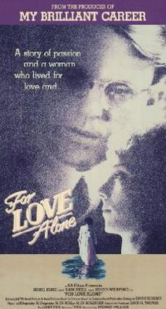 For Love Alone - VHS cover