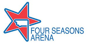 Four Seasons Arena - Image: Four Seasons Arena logo Great Falls Montana 2011