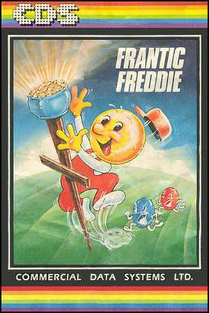 Frantic Freddie - Box art