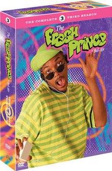 Fresh Prince S3 DVD