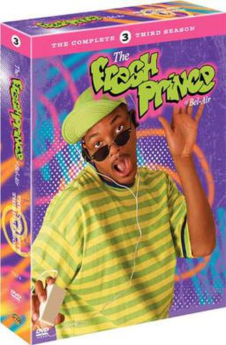 The Fresh Prince of Bel-Air (season 3) - DVD cover