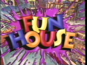 Fun House (U.S. game show) - Season 2 logo