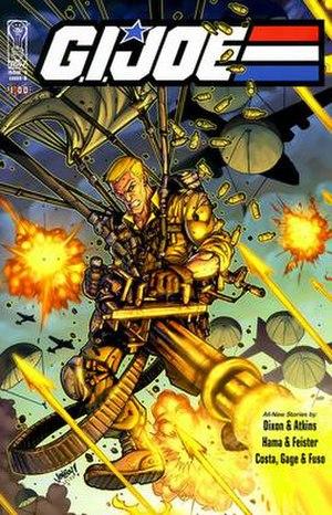 G.I. Joe (IDW Publishing) - Image: G.I. Joe Issue 0