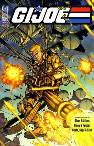 G.I. Joe (IDW Publishing) - Image: G.I. Joe Issue 0