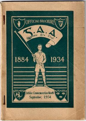1934 All-Ireland Senior Hurling Championship - Image: GAA Brochure G Jub