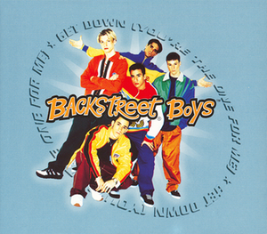 Get Down (You're the One for Me) - Image: Get Down (You're the One for Me) (Backstreet Boys single cover art)