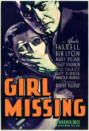 Girl Missing - Movie poster