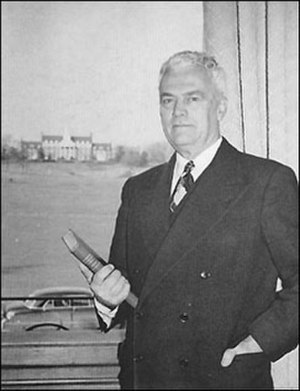 Curley Byrd - Byrd as President of the University of Maryland