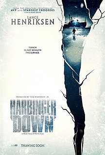 <i>Harbinger Down</i> 2015 film by Alec Gillis