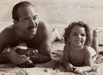 Harry Owens - Harry Owens with his daughter Leilani