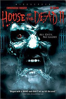 <i>House of the Dead 2</i> (film) 2005 television film directed by Michael Hurst