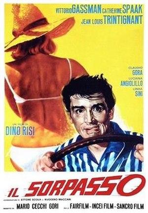 Il Sorpasso - Italian film poster