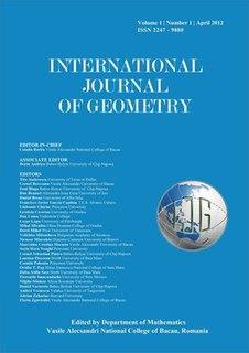 <i>International Journal of Geometry</i> Academic journal