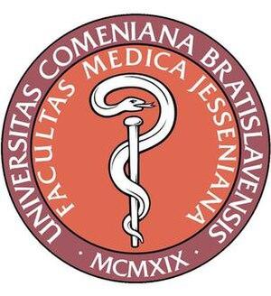 Jessenius Faculty of Medicine - Jessenius Med Logo