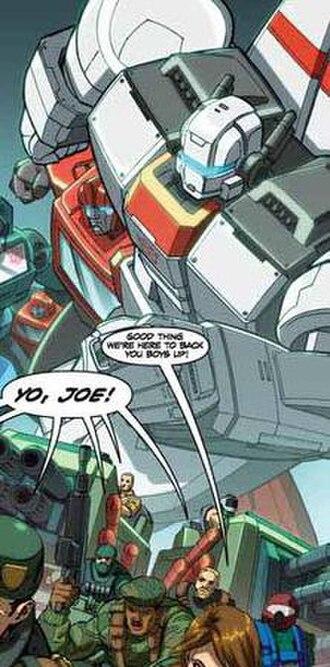 Jetfire - Jetfire and the G.I. Joes
