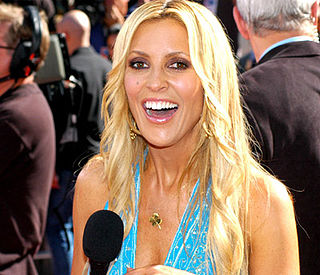 Jillian Barberie Canadian-born American television hostess, sportscaster, radio personality and actress