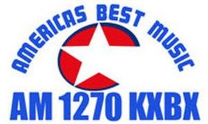 KXBX (AM) - Image: KXBX (AM) logo