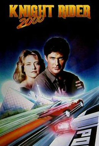 Knight Rider 2000 - Promotional poster for Knight Rider 2000