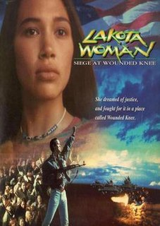 <i>Lakota Woman: Siege at Wounded Knee</i> 1994 drama TV film