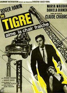 <i>Le Tigre aime la chair fraiche</i> 1964 film by Claude Chabrol