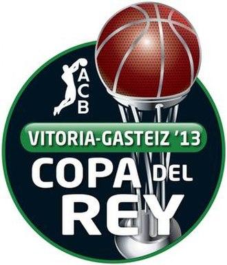 2013 Copa del Rey de Baloncesto - Image: Logo Copa del Rey ACB 2013