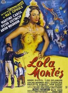 <i>Lola Montès</i> 1955 film by Max Ophüls