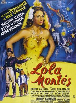 Lola Montès - Theatrical poster