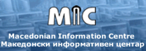 Macedonian Information Centre - Image: Macedonian Information Centre logo