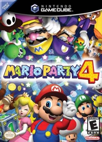 Mario Party 4 - North American box art