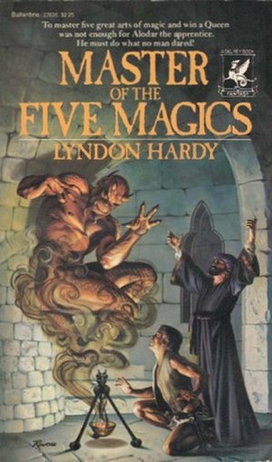 Master of the Five Magics - Cover of first edition