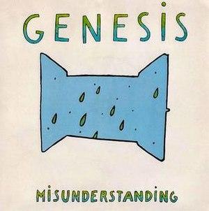 Misunderstanding (Genesis song) - Image: Misunderstanding Single