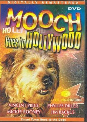 Mooch Goes to Hollywood - DVD cover